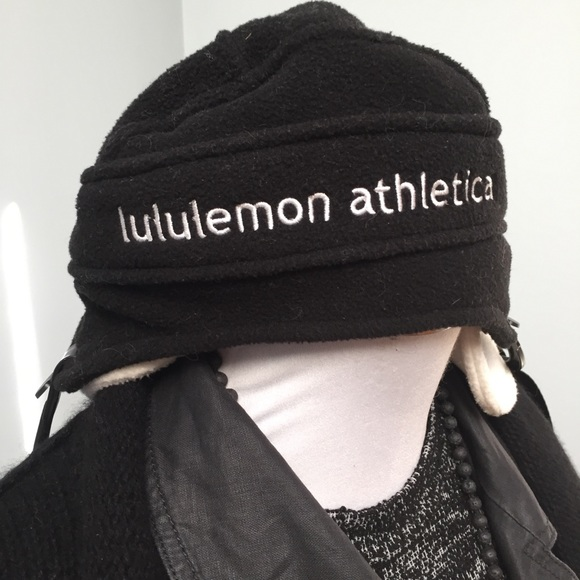 17a8d041 lululemon athletica Accessories - LULULEMON Fleece Hockey Flap Hat  Collector's Item